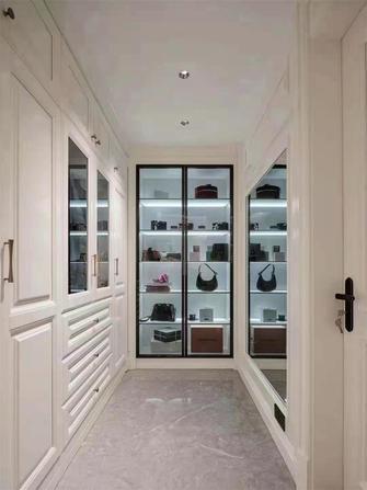 富裕型130平米三室两厅欧式风格衣帽间设计图
