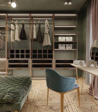 120平米三室一厅北欧风格衣帽间装修案例