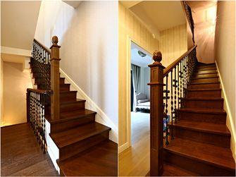 20万以上140平米复式日式风格楼梯装修图片大全