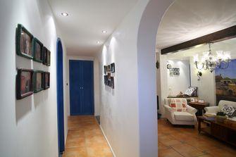 100平米三室一厅田园风格玄关装修效果图