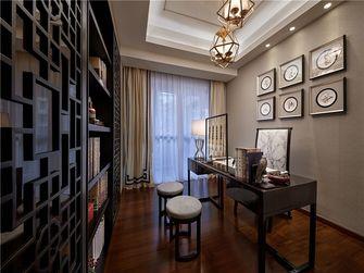 90平米三室一厅美式风格书房图片