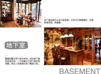 20万以上140平米别墅美式风格储藏室设计图