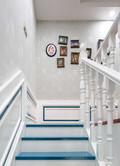 富裕型130平米复式美式风格楼梯图片