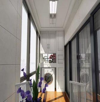 110平米三室两厅地中海风格阳台装修案例