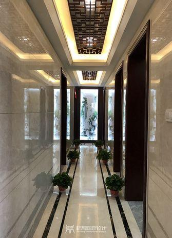 110平米三室两厅中式风格走廊设计图