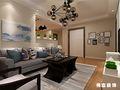 经济型80平米现代简约风格客厅效果图