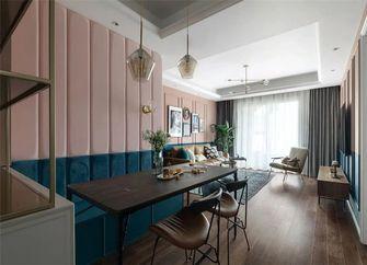 80平米三室一厅新古典风格餐厅欣赏图