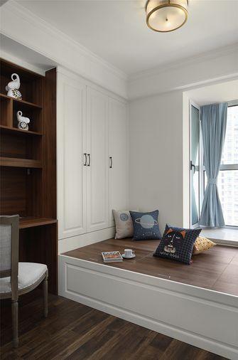 100平米三室一厅美式风格书房装修案例