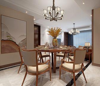 110平米三室三厅中式风格餐厅欣赏图