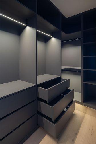 100平米三室两厅日式风格衣帽间欣赏图