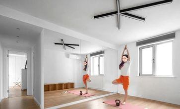 100平米三北欧风格健身室效果图