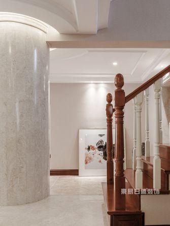 140平米别墅美式风格楼梯间图片大全