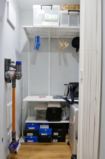 90平米三日式风格储藏室图片