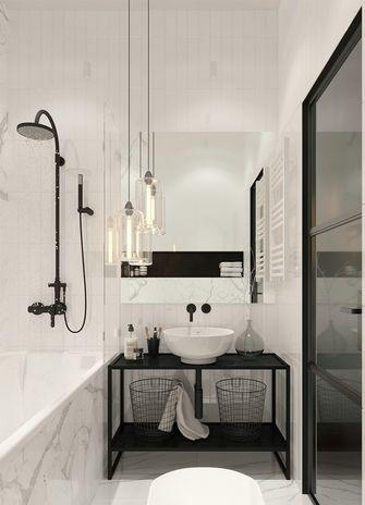 50平米公寓混搭风格卫生间图片