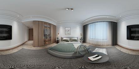 140平米三室两厅日式风格卧室装修案例