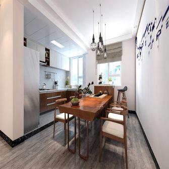130平米三室三厅中式风格餐厅图片大全