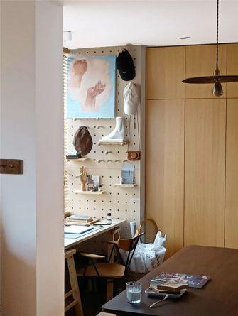 50平米一居室现代简约风格书房装修效果图