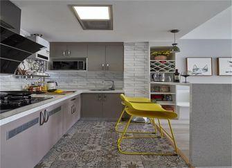 80平米一室一厅北欧风格厨房图