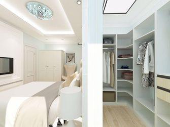 140平米三室一厅地中海风格衣帽间装修案例