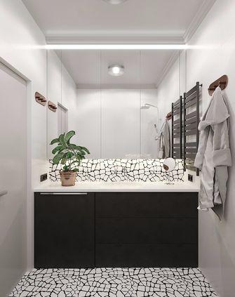 60平米新古典风格卫生间设计图