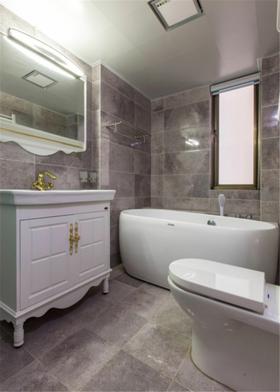 富裕型130平米三室兩廳歐式風格衛生間裝修圖片大全