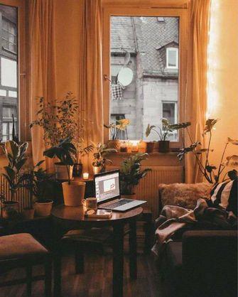 80平米一室一厅宜家风格书房图