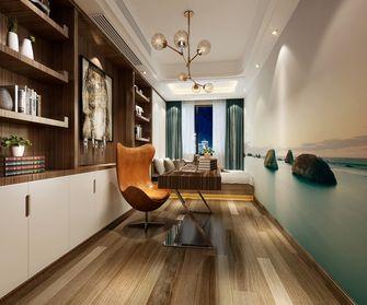 90平米四室两厅地中海风格书房图