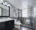 90平米美式风格卫生间浴室柜图片