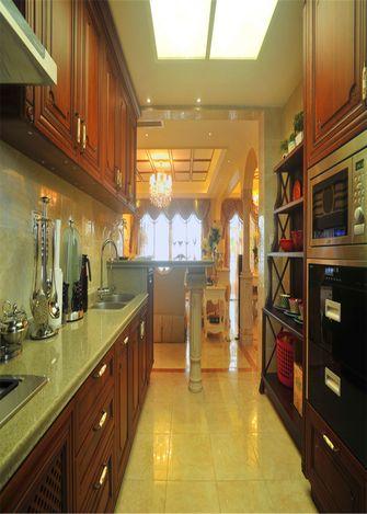 140平米三室三厅新古典风格厨房效果图
