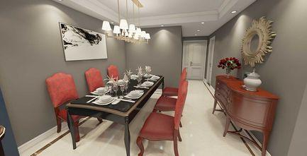 80平米新古典风格餐厅设计图