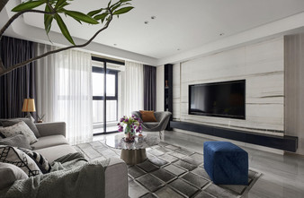 140平米三其他风格客厅装修效果图