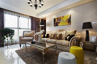 90平米新古典风格客厅效果图