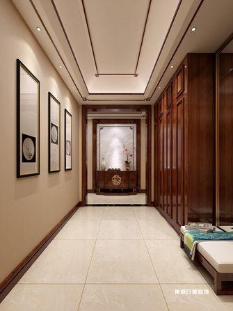 140平米四室三厅中式风格玄关装修图片大全
