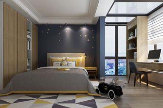 140平米复式中式风格儿童房设计图