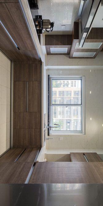 140平米三室一厅宜家风格厨房欣赏图
