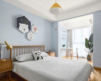 140平米四室两厅日式风格儿童房图