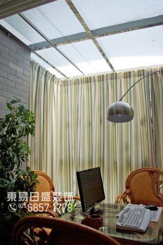 120平米三室两厅地中海风格阳光房装修效果图