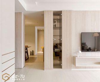 140平米三室一厅日式风格走廊设计图