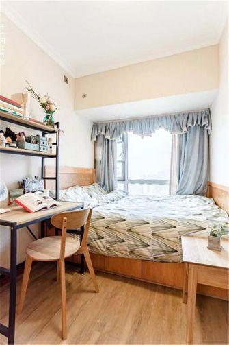 80平米三室两厅日式风格书房设计图