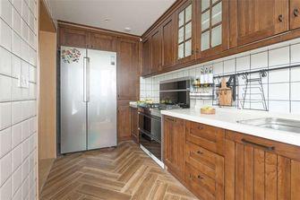 110平米三田园风格厨房设计图