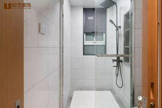 80平米三室两厅日式风格卫生间设计图