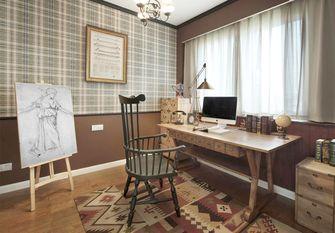 130平米三室两厅其他风格书房装修案例