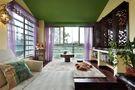 一室户东南亚风格装修案例