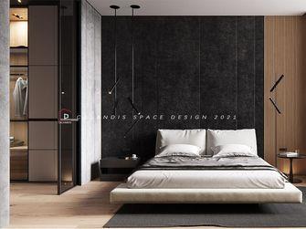 100平米三室一厅中式风格卧室装修案例
