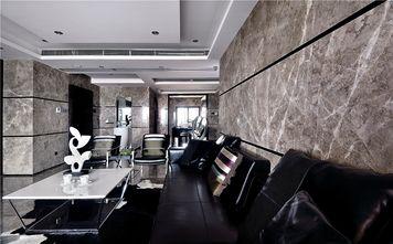 130平米三室两厅英伦风格客厅设计图