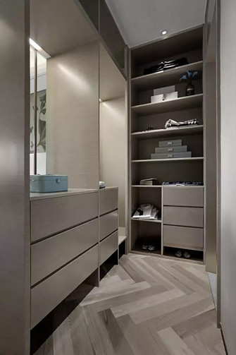 140平米日式风格储藏室欣赏图
