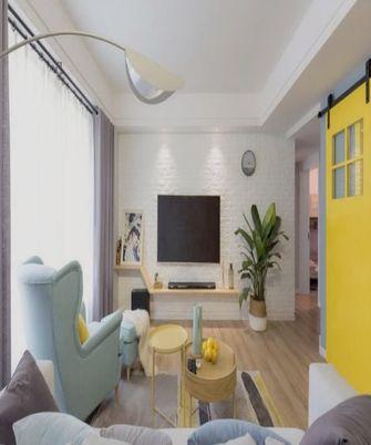80平米宜家风格客厅装修案例