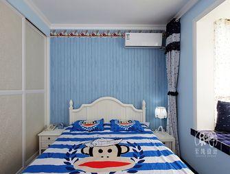 经济型100平米三室两厅地中海风格卧室装修图片大全