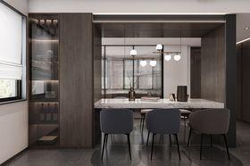 140平米四現代簡約風格餐廳設計圖