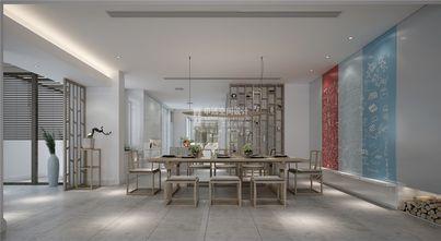 豪华型140平米别墅现代简约风格餐厅设计图